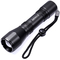 Zoomable high power 5W LED Portable torch light 18650 Battery Aluminum LED Rechargeable Flashlight black industrial