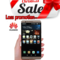 Refurbished Smartphone Huawei Mate7 2GB+16GB Hd camera phone Double SIM smartphone 2G+16G silver