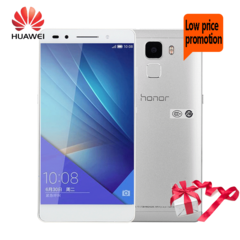 Smart Phone Mobile phone Refurbished  Huawei Honor 7 3G+64G Camera  Fingerprint unlocking 3+64gb 3+64gb silver