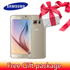 Refurbished mobile phones SamSung S6 Anycall 5.7 inch HD 3+32GB Fingerprint unlock Smart phone 3+32 Golden