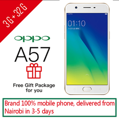 phones OPPO A57 3+32GB Dual SIM smartphone Google support UMTS & LTE 3GB+32GB Gold gifts 3g+32g gold