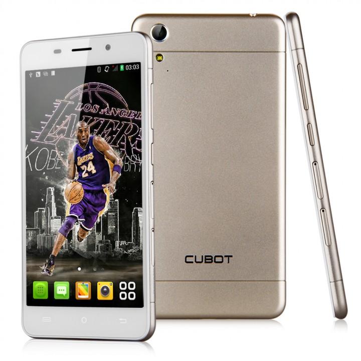 "CUBOT X9, 5"" HD, OCTA CORE 1.4GHZ, 16GB ROM, 2GB RAM, 13 MP CAMERA Gold"
