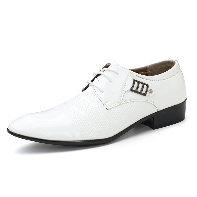 Brand Name  US SHOES Item No.  HJ3006 Material  Leather Color  Black  Brown Yellow White Size  EU 39 40 41 42 43 44. Shipping Time  Within 2-3  days after ... c626c675cf73