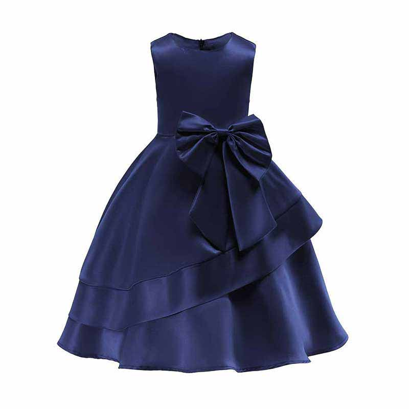 6cbf5fe873b1 New Wedding Birthday Party Child Marriage Mid-length Skirt Girls ...