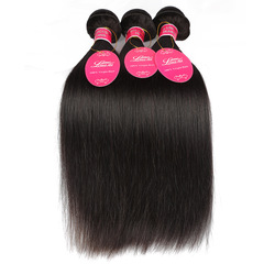 Brazilian hair 100% human hair weaves hair extension Brazilian hair natural color weave for sale nature color 24 24 26 26