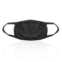 Unisex Men's Women Cycling Anti-Dust Cotton Mouth Face Mask Respirator black one size