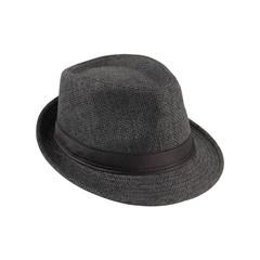 Unisex Fedora Trilby Hat Cap Straw Panama Style Packable Travel Sun Hat