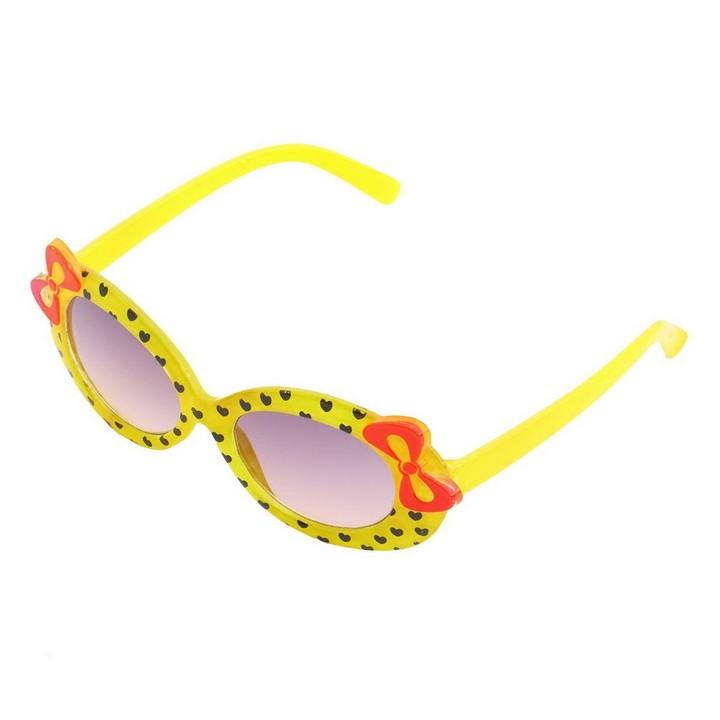 Fashion Baby Kids Children Sun Glasses Plastic Sunglasses Girls Bow Eyewear