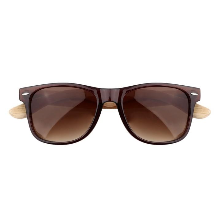 0767c4cbd9 Bamboo Sunglasses Wooden Wood Fashion Men Women Vintage Summer Glasses