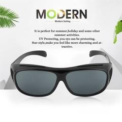 Man Woman Anti Glaring Vision Driver UV 400 Night Driving Glasse Goggles black one size
