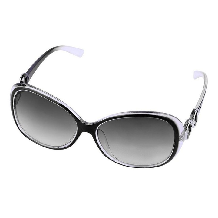 Women Fashionable Vintage Oversized Eyewear Sunglasses Outdoor Glasses