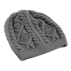 Women Warm Winter Beret Braided Baggy Beanie Knitted Crochet Hat Ski Cap