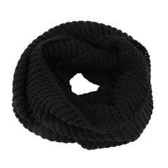 Winter Warm Scarf Knitting Turtleneck Scarf Solid Color Shawl For Women