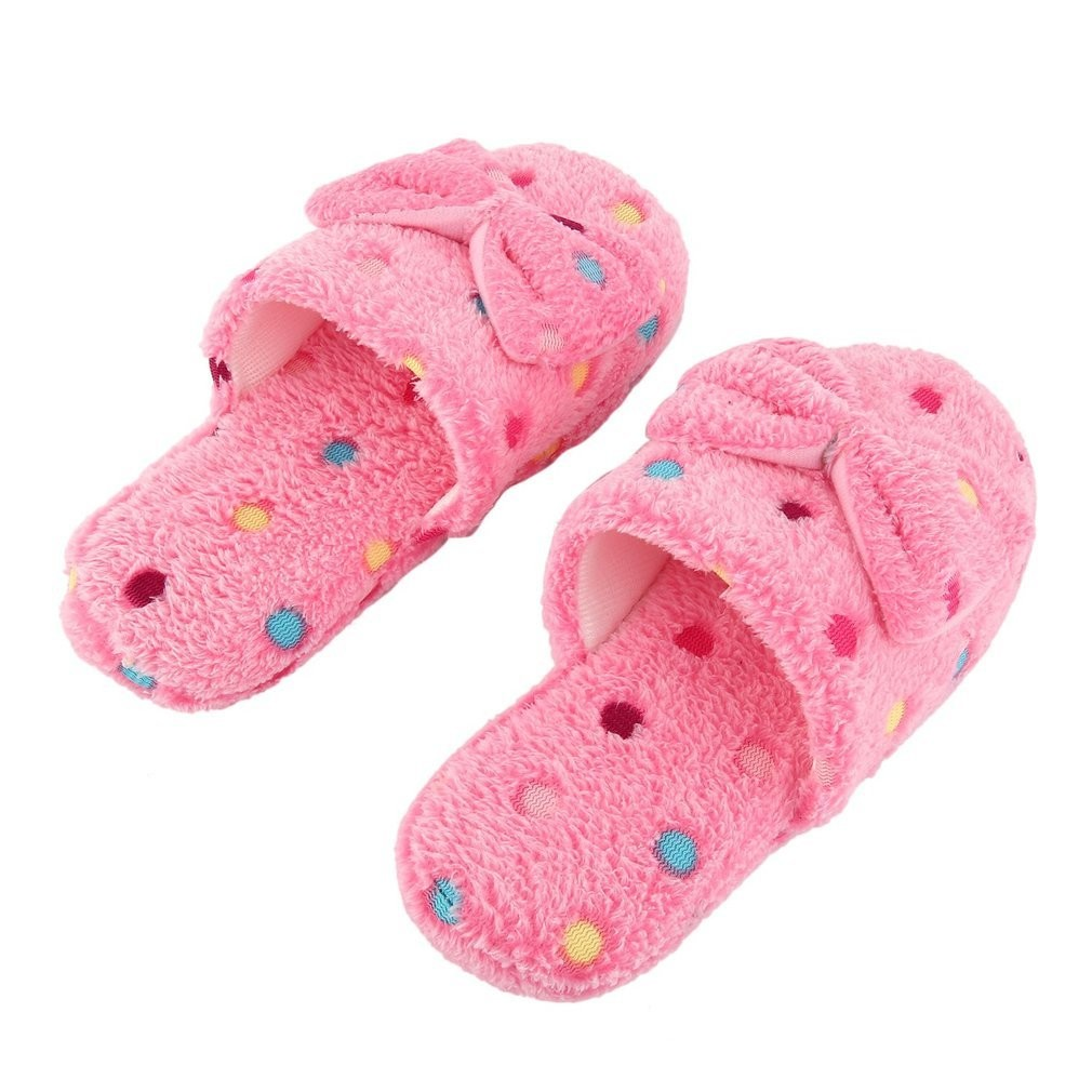 0e5ec33b25c7 Cute Lovely Home Slippers Cotton Slippers Anti-slip Sole Indoor ...