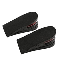 Adjustable 2 Layers Women Shoe Insoles Men Height Increasing Shoe PVA Shoe Pad
