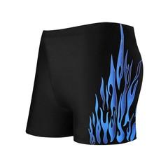 Men Swimwear Swim Shorts Beach Swimming Shorts for Gift blue XL