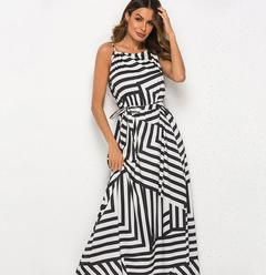 Long Maxi Beach Holiday Clothes Summer Womens Sleeveless Sexy Elegant Party Maxi Dress S as picture