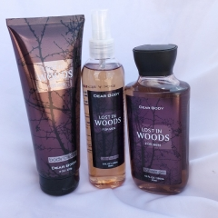 Signature collection Lost in Woods 3 in 1 Shower gel, Body Splash and Lotion