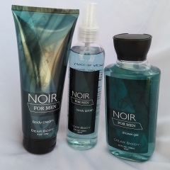 Signature collection Noir 3 in 1 Shower gel, Body Splash and Lotion