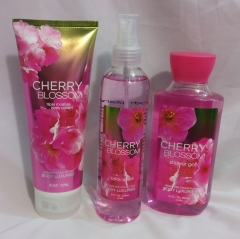Signature collection Cherry Blossom 3 in 1 Shower gel, Body Splash and Lotion