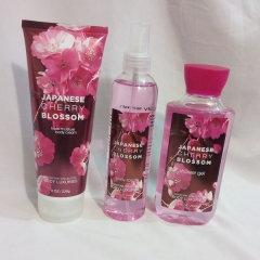 Signature collection Japanese Cherry Blossom 3 in 1 Shower gel, Body Splash and Lotion