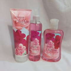 Signature collection Dream Chiffon 3 in 1 Shower gel, Body Splash and Lotion