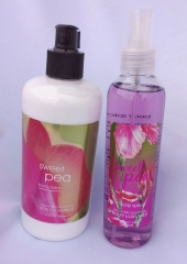 Signature collection Sweet Pea 2 in 1 Body Splash and Lotion pump normal