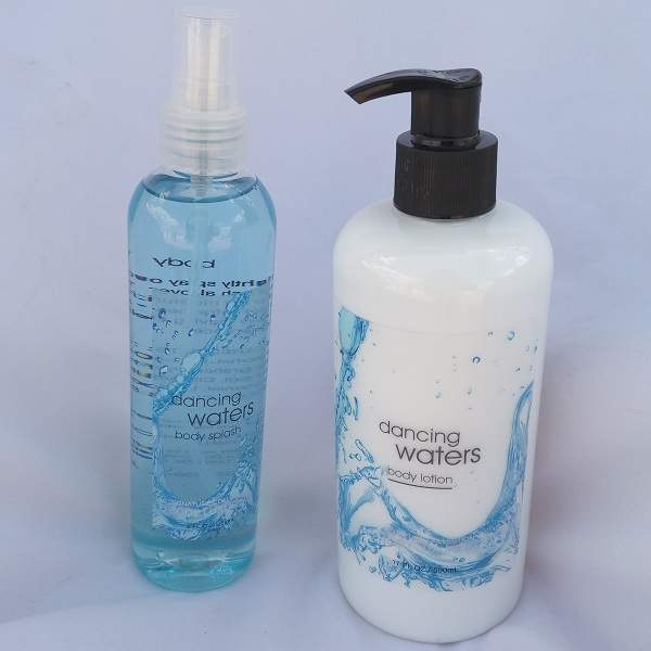 Signature collection Running waters / Dancing Waters 2 in 1 Body Splash and Lotion pump normal