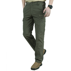 Quick Dry Casual Pants Men Army Military Trousers Men's Tactical Cargo Pants Waterproof Trousers armygreen l
