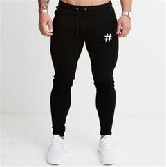 Lucky Men Explosive Casual Pants Trousers Loose Men's Wild Trend Men's Trousers black m