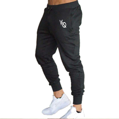 Running Sports Training Trousers Slim Brothers Elastic Closing Small Feet Sports Pants fitness black m