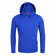 2019 New Men's Hooded Sweater Hooded Round Neck Sweater Collar Couple Lovers jacket Casual dark blue s