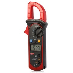 UNI-T UT201 LCD Digital Clamp Multimeter Auto Rang RED