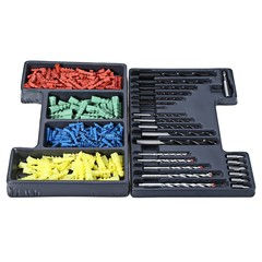 300pcs Bit Extension Rod Drill Setscrew Combinatio COLORMIX