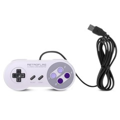 Retroflag U Edition Wired Game Controller for Swit PURPLE MIMOSA