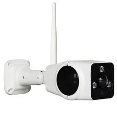 3.0 MP WiFi VRCam Wireless P2P Waterproof Outdoor  WHITE EU PLUG