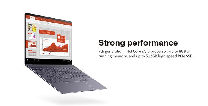 HUAWEI MateBook X WT - W09 Laptop 13 inch Windows 10 OS