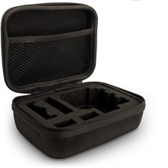 Black Small EVA Travel Hard Case Cover for  Gopro  BLACK