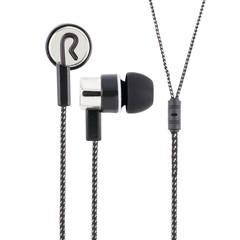 3.5mm Stylish Design In-ear Earphones BLACK + SILVER