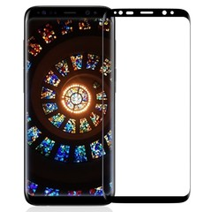 9H Hardness 0.3mm Full Screen Tempered Glass Film Screen Protector for Samsung Galaxy S9 Plus BLACK