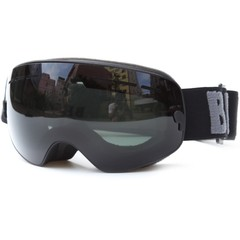 Ski Goggles Anti-fog Extra-large Spherical Double  Green one size