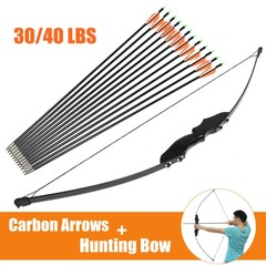30'' Hunting Bow Archery Compound Arrow Head Arche 30 lbs Normal