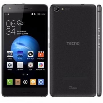 "TECNO J8, 5.5"" Screen, 16GB ROM, 2GB RAM, 13 MP Camera + Headset inside Black"