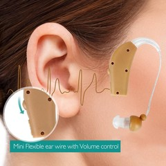 Rechargeable Digital Hearing Aids Sound Voice Ampl one color one size