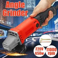 650W 220V 50Hz 0-11000RPM Electric Angle Grinder G Multicolor Normal