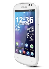 BLU DASH 4.0 SMARTPHONE, 4GB ROM, DUO CORE 1.3GHZ White