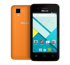 BLU DASH 4.0 SMARTPHONE, 4GB ROM, DUO CORE 1.3GHZ Orange