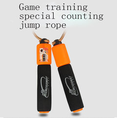 Game training special counting jump rope