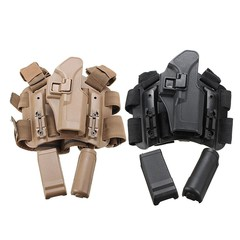 Adjustable Right Thigh Gun Tactical Leg Holster Po Black Normal