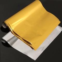 50 Sheets A4 Gold/Silver Transfer Foil Paper Laser Multicolor Normal